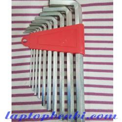 Bộ Vít lục giác 10 chi tiết MT - Bộ Lục Giác Đầu Bi 10 Cây Chữ L 1.5-10mm Dài 17mm, Chất liệu thép CR-V6150, chống ăn mòn và chịu lực tốt, thích hợp sử dụng trong nhiều môi trường làm việc khác nhau