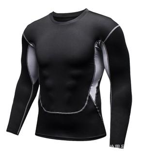 Áo tay dài Nam tập gym thể thao đen cao cấp phong cách 2020 (AMN007-C) - AMN007-C thumbnail