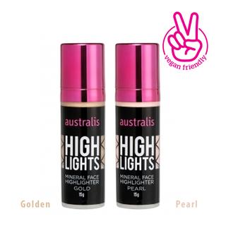 Kem Bắt Sáng Dạng Lỏng Pearl Mineral Face Highlighter Australis Úc 15g - KEMNENBATSANGDANGLONG thumbnail