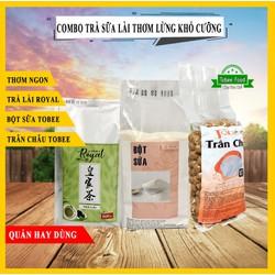 COMBO TRÀ SỮA LÀI RO-YAL TEA - Nguyên Liệu Pha Trà Sữa Hảo Hạng