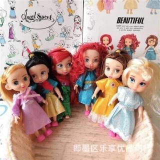 SET 6 CÔNG CHÚA BÚP BÊ DISNEY -li -li -li 140k bộ Tìm mãi mới được series đủ bộ cho các nàng công chúaaa 1 set đủ các nàng Tóc mây-Bạch tuyết- Tiên cá-Tóc xù-Bella-Lọ lem. Toàn nhân vật các bé nào cũng thích, bé nào cũng yêu Sét 6 búp bê - NG2837 thumbnail