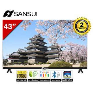 [Thương hiệu Nhật]Smart Tivi Karaoke SanSui 43inches SS4300KS - SS4300KS thumbnail