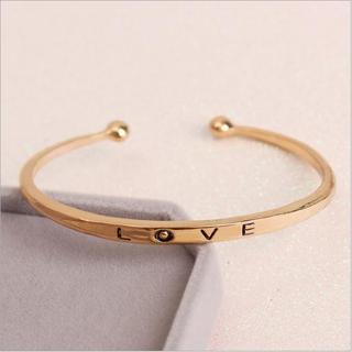 [MIỄN PHÍ VẬN CHUYỂN] Vòng tay nữ Love Luxury Korea đầy cá tính - thay bạn nói lời yêu thương từ con tim - VONGTAY-LOVE 6