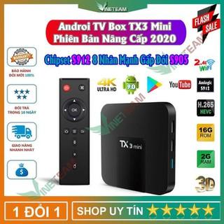 Android TV box TX3 mini, TX3mini 2G RAM 16G ROM có cổng quang sử dụng chip S912 lõi 8 nhân mạnh hơn S905W - DC4242 thumbnail