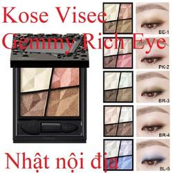 Phấn mắt trang điểm Phấn mắt Kose Visee Gemmy Rich Eyes nội địa Nhật
