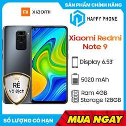 Điện thoại Xiaomi Redmi Note 9 (4GB/128GB) - Hàng chính hãng - Xiaomi Redmi Note 9