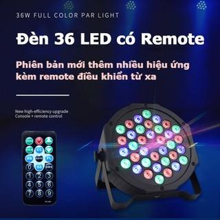 Đèn led sân khấu Flat Par Light 36 Led cảm ứng âm thanh hai phiên bản có khiển và không khiển - SP0056 thumbnail