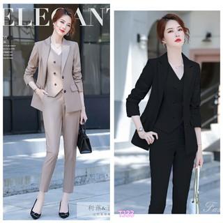 Set nguyên bộ áo Vest quần dài + Ghi Lê TJ33 - TJ33 thumbnail