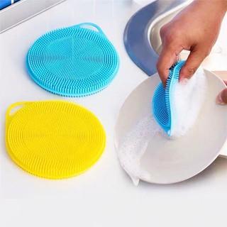 (SET 5 CHIẾC) Miếng rửa bát silicon đa năng - Miếng rửa bát silicon, rửa rau củ, mở nắp chai lọ - MCXS-1 thumbnail
