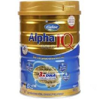 Dielac Alpha Gold IQ 4, 900g date 2022 [ĐƯỢC KIỂM HÀNG] 35005420 - 35005420 thumbnail