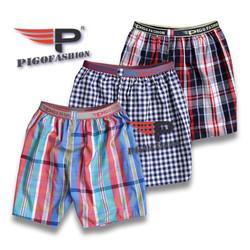 Combo 3 quần đùi nam lưng thun boxer thể thao cao cấp QDN04.1 mới PigoFashion giao màu ngẫu nhiên