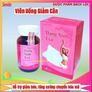 Viên uống giảm cân Dáng Xinh Eva- Hộp 20 viên - Dáng Xinh Eva- thumbnail