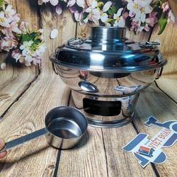 [VIDEO] Nồi Lẩu CỔ ĐIỂN sử dụng THAN hoặc CỒN 22cm INOX. Nồi Lẩu BẦU SIÊU ĐẸP. Dụng cụ nấu bếp đậm chất TRUYỀN THỐNG dùng gia đình nhà hàng và các SỰ KIỆN VĂN HOÁ ẨM THỰC VIỆT