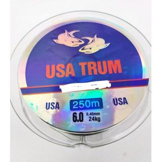 cước câu cá USA TRUM cước mỹ 250m tàng hình - cước câu cá USA TRUM cước mỹ 250m tàng hình thumbnail