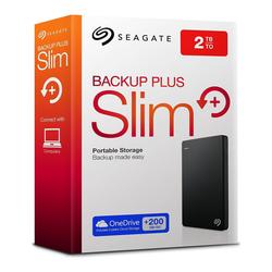 Ổ cứng di động Seagate-s 2TB Backup Plus Slim Portable External USB 3.0 Hard Drive - BH 12 tháng
