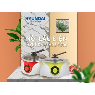 Nồi Lẩu Điện Hyundai Hde 1000Gr Tiết Kiệm Điện Năng Tối Đa - 4443373242 thumbnail