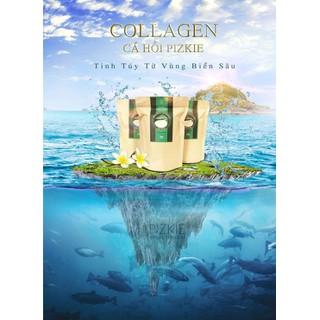Collagen Pizkie - collagen cá hồi Nhật Bản - liệu trình 90 ngày - CLG09 thumbnail