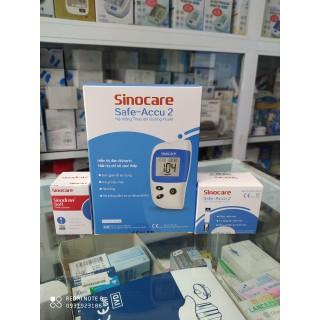Máy đo đường huyết Safe-Accu 2 tặng kèm 50 que 50 kim - safe-accu2 thumbnail