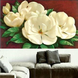 Tranh đính đá hoa trắng nở rộ Y8064 - Y8064 thumbnail