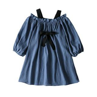 Áo trễ vai big size (Hàng Order) áo kiểu cho người mập - AO011 thumbnail