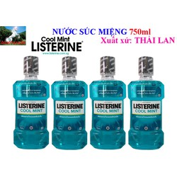 Nước Súc Miệng Listerin 750ML