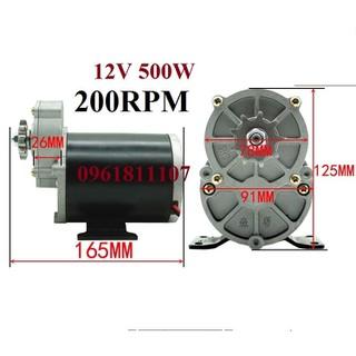 Động cơ giảm tốc 12V 500w - Động cơ giảm tốc 12V 500w thumbnail
