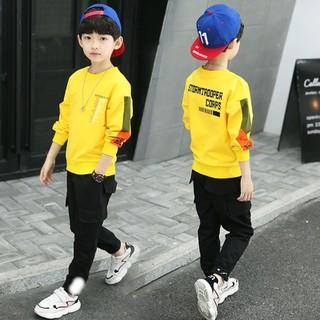 SET bộ quần áo trẻ em in chữ STORM dành cho bé trai 6-10 tuổi. Chất liệu tốt, có dãn - Bộ STORM thumbnail