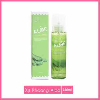 Xịt Khoáng The Rucy Aloe Hydrating Facial Mist LK Shop - xịt khoáng lô hội 5