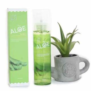 Xịt Khoáng The Rucy Aloe Hydrating Facial Mist LK Shop - xịt khoáng lô hội 6