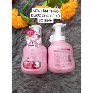 Sữa tắm gội trẻ em Nhật bản Arau baby chai 450ml - Arau thumbnail