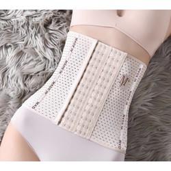 Gen nịt bụng định hình 6 nấc cài – 4 thanh chống cuộn – chiều cao gen 25cm – gen nịt bụng tạo vòng eo thon gọn – đai nịch bụng chống cuộn giảm mỡ sau sinh – miếng nâng bụng – đồ lót định hình – Lê Ngọc Fashion G02