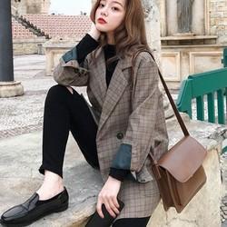 [ ĐƯỢC KIỂM TRA HÀNG ] Áo vest ,áo blazer nữ phong cách hàn quốc