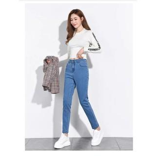 Quần jean nữ big size Hàng Order quần jean cho người mập [ĐƯỢC KIỂM HÀNG] 35221218 - 35221218 thumbnail