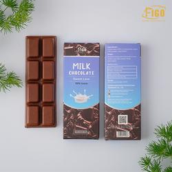[Chính hãng] Bar 20gr- Milk Chocolate, Kẹo Socola sữa 50% Cacao dành cho bé, trẻ con nghiền ăn socola sữa Hiệu Figo