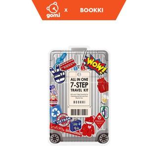 Bộ Sản Phẩm Du Lịch 7 trong 1 Bookki All in one 7-Step Travel Kit GomiStore - Hộp 5 Miếng - BK7STK0000008 thumbnail