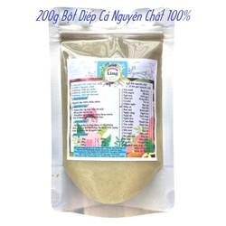 Bột Diếp cá sấy lạnh 200g có giấy VSATTP và ĐKKD nguyên chất thiên nhiên 100% dùng để đắp mặt đa công dụng