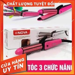 Máy Làm Tóc 3 Trong 1 Nova Uốn Duỗi Bấm - 4249924412 thumbnail