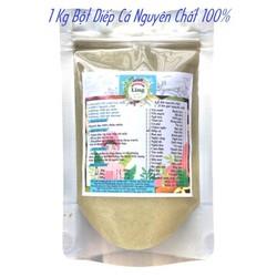 Bột Diếp Cá sấy lạnh 1 Kg có giấy VSATTP và ĐKKD nguyên chất thiên nhiên 100% dùng để đắp mặt đa công dụng