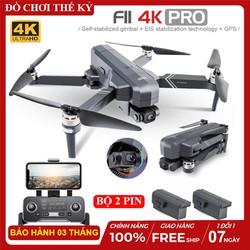 [ BỘ 2 PIN + TÚI ] Flycam SJRC F11 4K PRO ( F11S ), Camera 4K, Chống rung 2 trục, Thời gian bay lên tới 25 phút