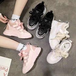 Giày thể thao nữ học sinh dây to cột độn đế trẻ trung giày Hot 2020 HH2