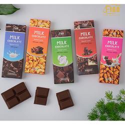 [GIÁ DÙNG THỬ] Bar 20gr Combo (4 Hộp) MIX các vị Dark & Milk Chocolate Kẹo Socola đen và Socola sữa Figo thanh 20gr