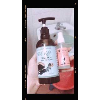 combo dầu gội bồ kết và tinh dầu bưởi - n468985 thumbnail