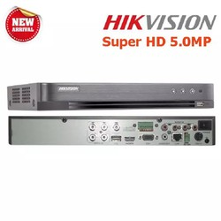 Bộ Camera giám sát Cao Cấp Hikvision 4 Kênh 5.0MP Super HD - Trọn Bộ 4 mắt Camera 5.0MP  HDD 500G  Đủ phụ kiện lắp đặt [ĐƯỢC KIỂM HÀNG]
