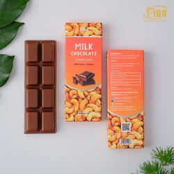 [Chính hãng] Bar 20gr- Milk Chocolate, Kẹo Socola sữa 50% Cacao nhân Hạt điều giòn tan ngay trong miệng, chất lượng