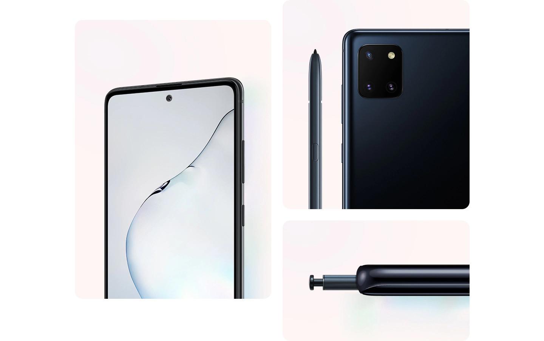 thiết kế Samsung Galaxy Note10 Lite