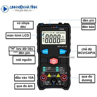 Đồng hồ vạn năng điện tử FS1B độ chính xác cao chống cháy kích thước nhỏ gọn tiện lợi có đèn pin - Đồng hồ vạn năng điện tử FS1B thumbnail
