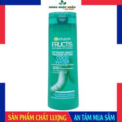 Dầu Gội Đầu Nước Dừa Garnier Fructis Fats Coco, 300ml