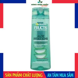 Dầu Gội  Garnier Fructis Aloe Hydra Bomb, 300ml