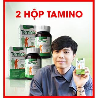 COMBO 2 HỘP Viên Uống Tăng Cân TAMINO - Bổ Sung Whey Protein từ Mỹ - Ăn Ngủ Ngon [Best Choice - Hoàn 311% nếu KHÔNG CHÍNH HÃNG] - TAMINO02 thumbnail