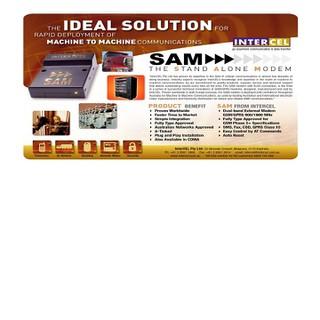 THIẾT BỊ HỖ TRỢ GỬI TIN NHẮN GSM Modem InterCel SAM2W [ĐƯỢC KIỂM HÀNG] 35336553 - 35336553 thumbnail